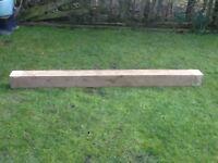 Oak Beam (218cm long X 15cm X 15cm)