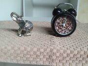 LEOPARD PRINT CLOCK AND ELEPHANT FOR GOOD LUCK Richardson Tuggeranong Preview