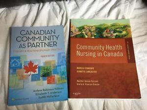 Community nursing textbooks.