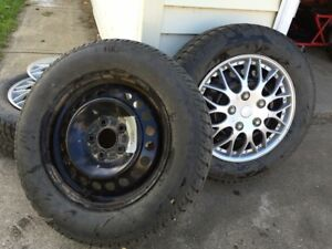 195/65R15 winter tires and rims