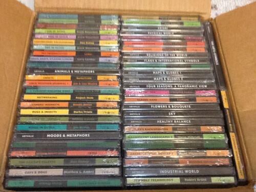 Lot of 47 Artville  stock photos CDs for Mac/Windows NEW!  SEE PHOTOS