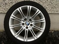 18INCH 5/120 BMW 5-Series GENUINE ALLOY WHEELS WITH TYRES