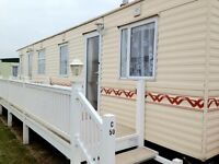 Caravan for hire Chapel St Leonard's