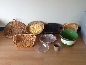 Various Size Baskets