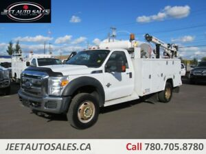 2011 Ford F-550 XLT Service Body 6.7L DSL