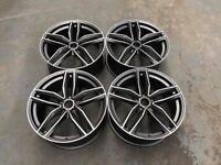 "18 19 20"" Inch Audi RS6 C style Alloy wheels A3 A4 A5 A6 A7 A8 Caddy Seat Leon Passat Skoda 5x112"