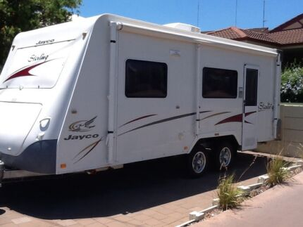 2007 JAYCO STERLING 21.6ft, CARAVAN WITH ENSUITE Australind Harvey Area Preview