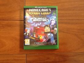Minecraft story mode the complete adventure Xbox one