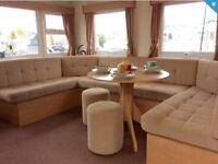cheap double glazed central heated caravan