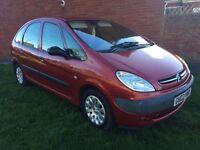 2003 CITROEN PICASSO 2.0 HDI DIESEL MOT SEPTEMBER £300 CHEAP FAMILY CAR