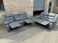 3+2 Seater recliner Sofa Set All brand New Packed