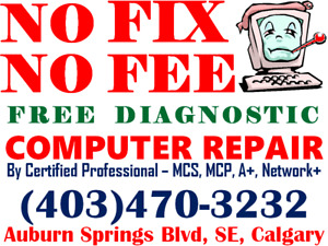 Laptop & Desktop Computer Repair & Home/Office Networking