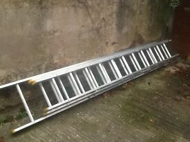 30ft aluminum triple extension ladder. Only used to paint the house