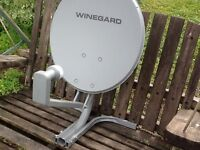 Portable satelitte dish
