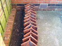 13 Victorian ridge tiles