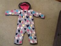 Snow suit from m&s lovely condition