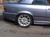 "BMW 17"" MV2 alloy wheels x 4"