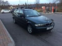 For sale or swap for van: BMW 320D