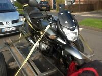2009 HONDA CBF 125 ,mot Nov runs rides but spares repair its in Warwick not torquay