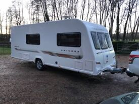 2012 Bailey Unicorn Madrid 4 Berth caravan MOTOR MOVER VGC Awning Bargain ! January Sale