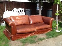 Free two seater sofa..can deliver local to hounslow