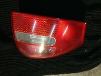 Audi A6 passenger side rear light