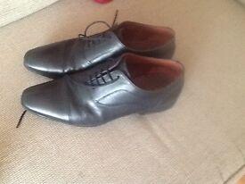 Next mens black shoes size 10