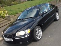 2006 VOLVO S60 2.4 TD D5 SE WITH FULL BLACK LEATHER INTERIOR!!!