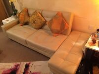 2 SETS OF SOFABED WITH 2 FOOTSTOOLS