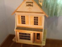 Dolls House, brand new, wooden, hand made.