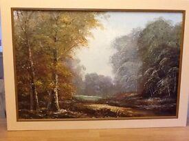 Gordon Allen oil painting