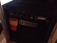 LARGE fender amplifier, bass amp, electric
