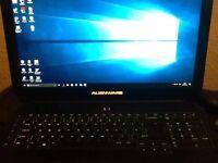 Alienware 17 intel i7 6th.gen NVIDEA gtx 970m window 10 £900 with warranty