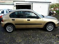 FOR SALE:Rover 25 impression s !!! REDUCED £295 ono!!!!!!!