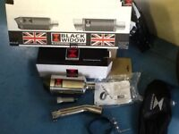 Lovely black widow exhaust back box for sale...£125