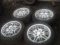 "Bmw 17"" 5x120 alloy wheels"