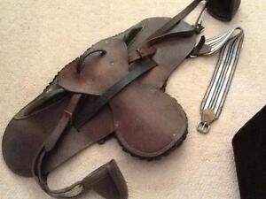Bareback saddle pad leather Tallebudgera Gold Coast South Preview