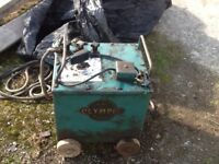 Olympic Bantum oil cooled welder electric arc spares or repair