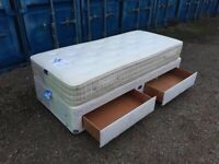Luxury Single Bed & Thick Mattress Clean Condition Free Delivery In Norwich,
