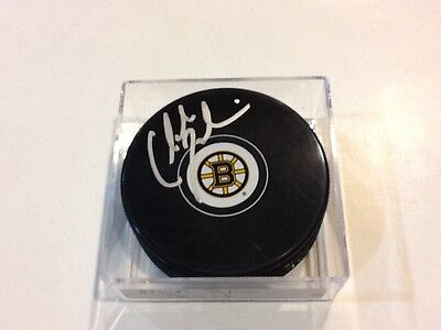 Claude Julien Signed Boston Bruins Hockey Puck Autographed B