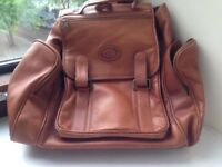 Large Real Leather Backpack