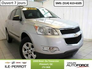 2011 CHEVROLET TRAVERSE 8 PASS, DEMARREUR A DISTANCE