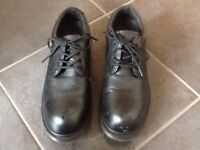 Dr Martin steel toe safety mans shoes size 8