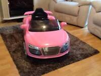 Kid's Audi remote control car