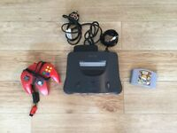 Nintendo 64 Bundle - N64 Console, Controller & Game