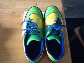 Clarks older boy football shoes (size 5.5)