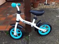 Child's balance bike used only once suitable for 3 years +