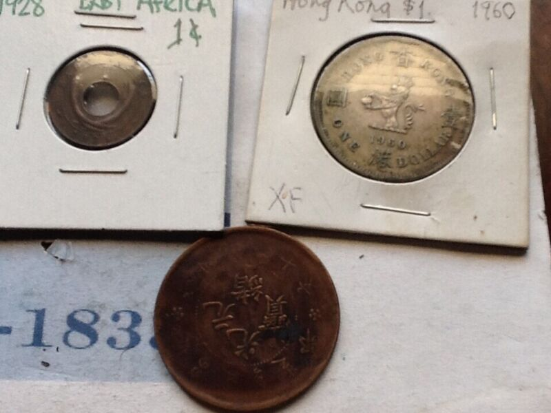 FOREIGN COIN COLLECTION ONE LOT
