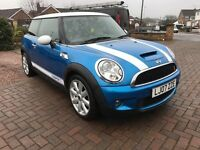 Mini cooper S 1.6 2007 plate low milage