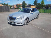 Mercedes E Class E220 CDI Avantgarde Blue-Efficiency Auto NOT e250 e350 5 series audi a6 passat cc